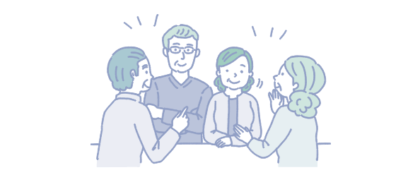 登録専門家との面談および家族会議を実施いただきます